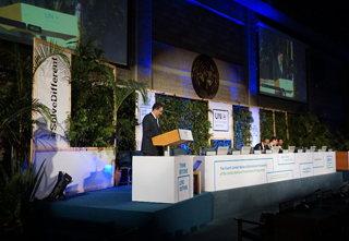Closing the 4th session of the United Nations Environment Assembly in Nairobi, Kenya