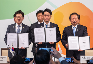 Signing of the 21st Korea, China, Japan Environment Ministers' Meeting Joint Agreement